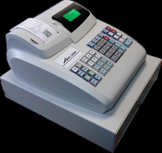 Аппарат для ЕНВД Касби 02 М с денежным ящиком